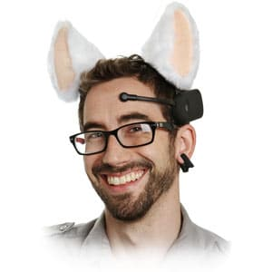 Necomimi BrainWave Cat Ears at ThinkGeek
