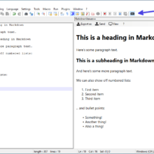 How to Install the MarkdownViewer++ Plugin in Notepad++